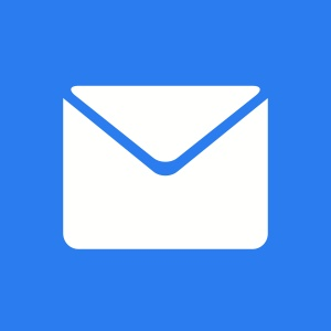 Email Blue 300 Home